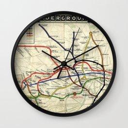 London Underground 1908 Wall Clock
