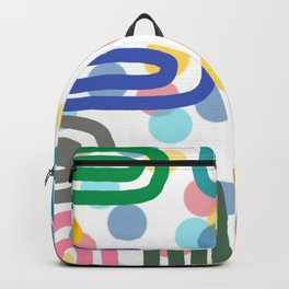 Colourful Lines Backpack