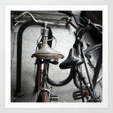 bikes 03 Art Print