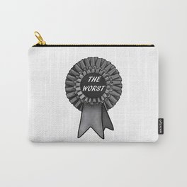 THE WORST Rosette Carry-All Pouch