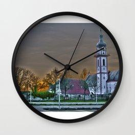St.Peter and Paul Church DE - Laupheim, Germany Wall Clock