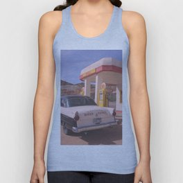 Biker Patrol Vintage Car 2 : Lowell Arizona Unisex Tank Top