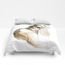 Totem Eurasian River Otter Comforters