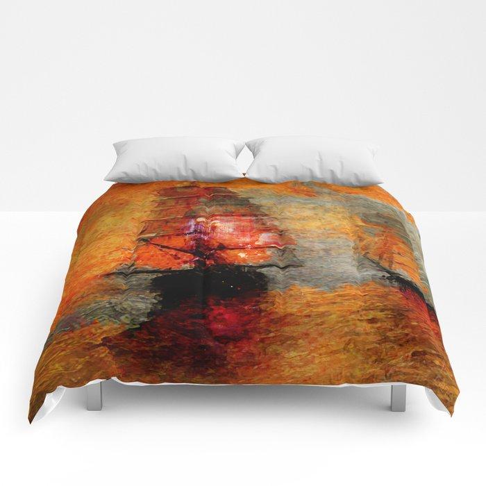 melancholic boats Comforters