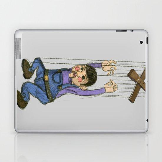 DOLL PUPPET II RED CHEEKS  Laptop & iPad Skin