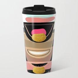 Modern minimal forms 16 Metal Travel Mug