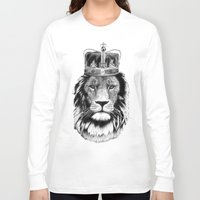 the lion king Long Sleeve T-shirts featuring Lion King by dalsdesign
