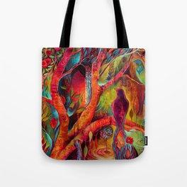 Branches of Dziva Tote Bag