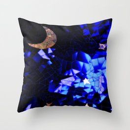 Cosmic Love Vibes Throw Pillow