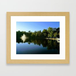 Paradise Resort, OOB, Maine, US Framed Art Print
