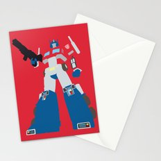 Transformers G1 - Optimus Prime Stationery Cards