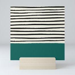 Jungle x Stripes Mini Art Print