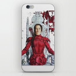 "Katniss Everdeen Mockingjay Part 2 ""I Kill Snow"" | Drawing iPhone Skin"