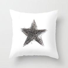 WRONG STAR Throw Pillow