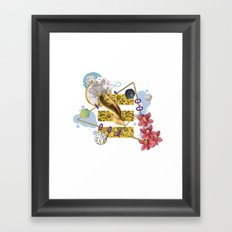 Universal shapes - Triangle Framed Art Print