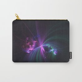 Fireworks Fractal Carry-All Pouch