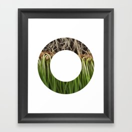 Hall-O Roots Framed Art Print