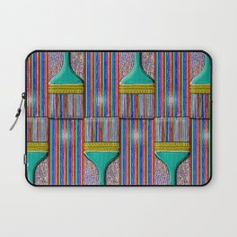 A Brush with Wet Paint Laptop Sleeve