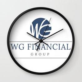 WG Financial Group Wall Clock