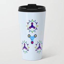 Fidget Spinner Design version 3 Travel Mug