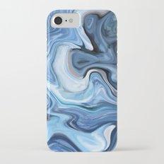 Marble texture print Slim Case iPhone 7