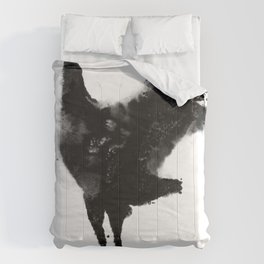 Oil and Wildlife Don't Mix - Crane Comforters