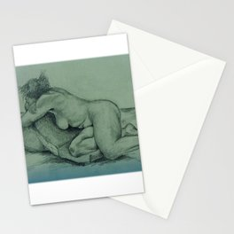 Angie - pencil sketch Stationery Cards