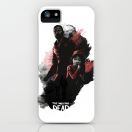 Lee & Clementine iPhone Case