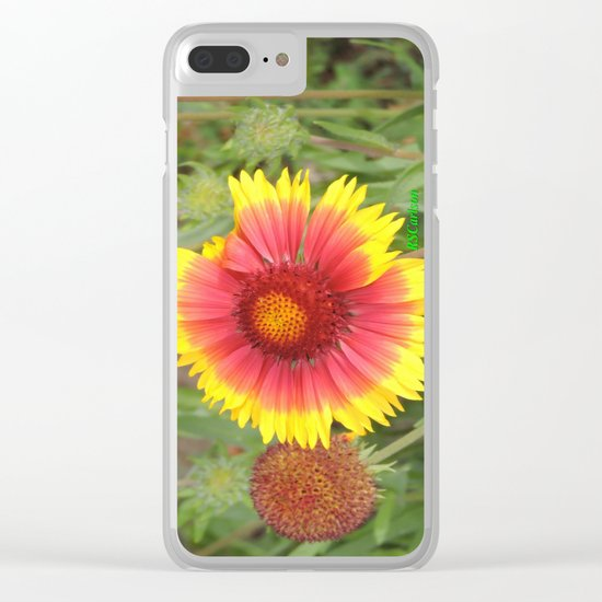 Spring in Progress Clear iPhone Case