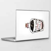 pills Laptop & iPad Skins featuring Mean Pills  by Christopher Chouinard