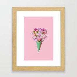 Flower Flurry I Framed Art Print