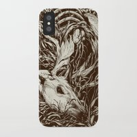 animals iPhone & iPod Cases featuring doe-eyed by Teagan White