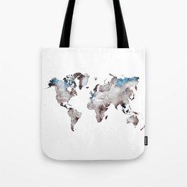 world map 73 Tote Bag