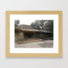 FLW Framed Art Print