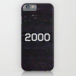 2000 iPhone Case