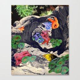 Underwater Desert Canvas Print
