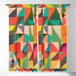 Color Field Blackout Curtain