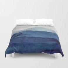 Water color landscape  Duvet Cover