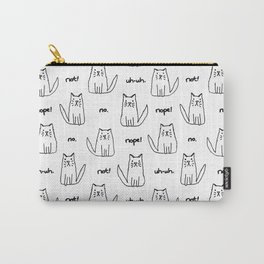 Little Cats with Bad Attitudes Carry-All Pouch