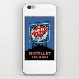 Landmark Series | MN Nicollet Island Grain Belt Bridge iPhone Skin
