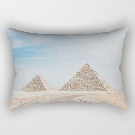 Pyramids of Giza X Rectangular Pillow