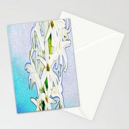 lirios ( lilies ) Stationery Cards