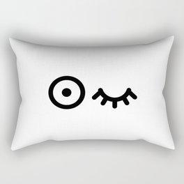 Eye balls Rectangular Pillow