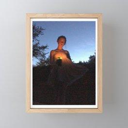 Lady of Nightfall Framed Mini Art Print