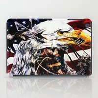 patriotic iPad Cases featuring PATRIOTIC TIMES by PERRY DAEZIOUH