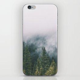 Forest Fog XI iPhone Skin