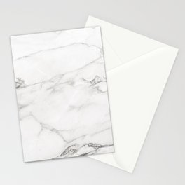 White Marble 006 Stationery Cards