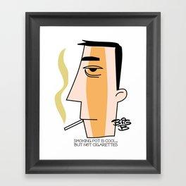 Cigarettes Framed Art Print