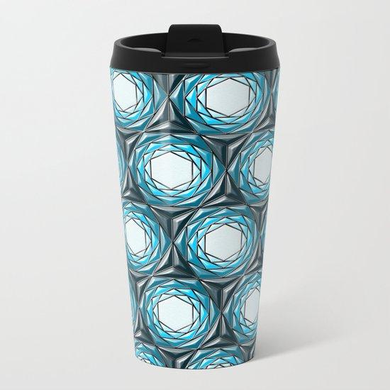 Geometrix LX Metal Travel Mug
