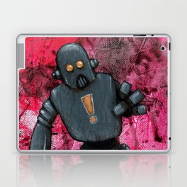 Bue Robot Laptop & iPad Skin